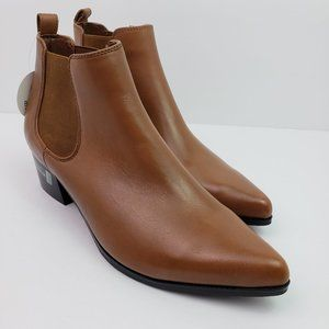 NEW Blondo Waterproof Womens Leather Ankle Booties